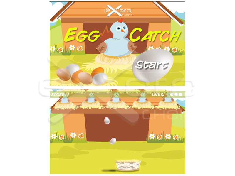 Game - Egg Catch