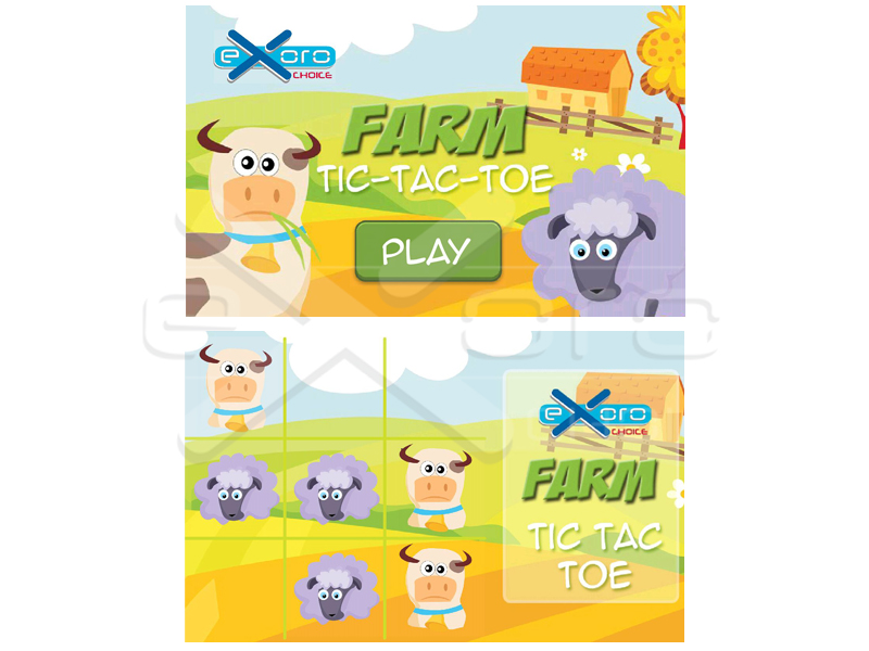 Game Farm Tic Tac Toe