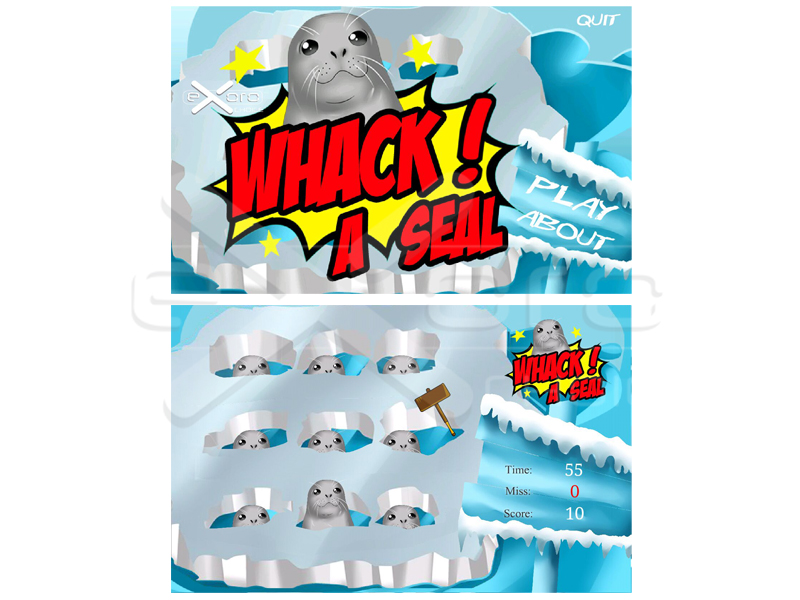 Game - Whack A Seal